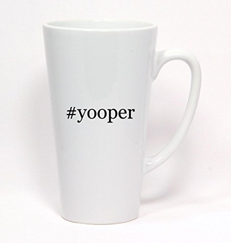#yooper - Hashtag Ceramic Latte Mug 17oz (Yooper Bars compare prices)