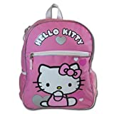 Sanrio Hello Kitty Large Backpack and Spongebob 4 Pieces Stationery Set