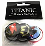 Irish Shopper R.M.S. Titanic Collectors Button Badges Pack 6 Belfast