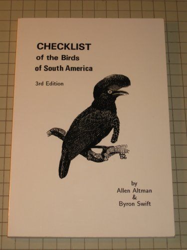 Checklist of the Birds of South America
