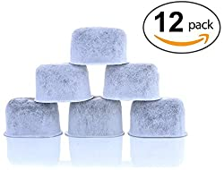12-Pack KEURIG Water Filters - Universal Fit Keurig Filters - Replacement Charcoal Water Filters for Keurig 2.0 (and older) Coffee Machines