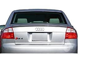 02-05 Audi A4 Lip Spoiler - Factory Style - Painted : LY3J / C8 Brilliant Red Clearcoat