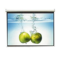 Inlight Wall Imported Autolock/Instalock Projector Screen, Size- - 6x4 Ft.(A+++++ GRADE, DOUBLE LAYER FABRIC PASTING)