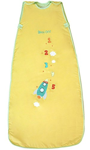 The Dream Bag Baby Sleeping Bag Blass Off 18-36 Months 1.0 Tog - Yellow