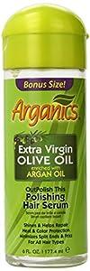 Arganics Outpolish This Polishing Hair Serum, 6 Ounce