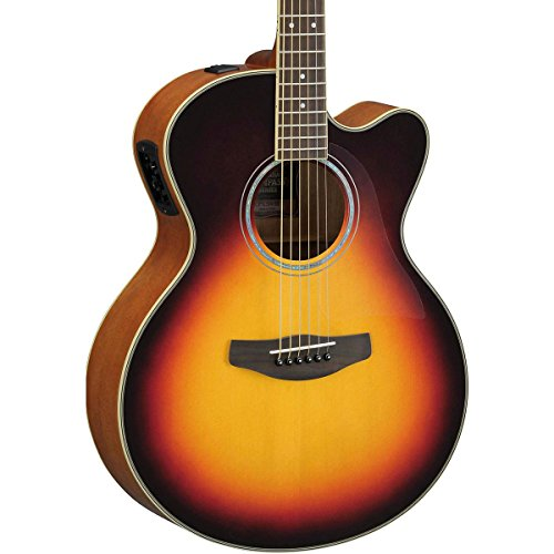 yamaha cpx500iii medium jumbo cutaway acoustic electric guitar vintage sunburst guitar buy. Black Bedroom Furniture Sets. Home Design Ideas