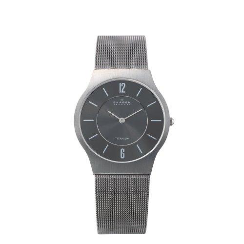 Skagen Gents Titanium Quartz Watch