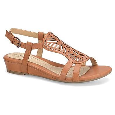 Amazon.com: Softspots Women's Susanna Strap Cutout Casual Sandals