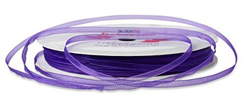 Organzaband 3 mm lila for Floristik versand