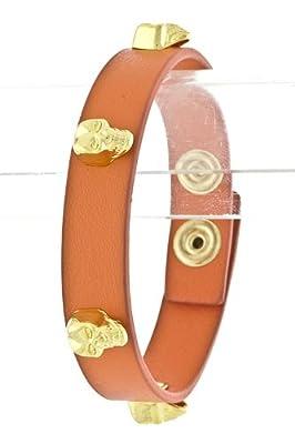 Tiffany & Zara Skull Studded Bracelet by Karmas Canvas