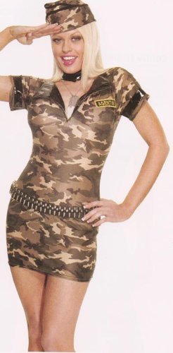 Army Girl Costume S/M/L/X-L