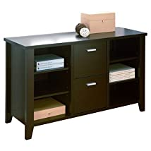 2-Drawer 2 File Cabinet Finish: Cappuccino