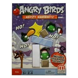 Mattel Angry Birds Happy Holidays! Game – Christmas Themed Board Game