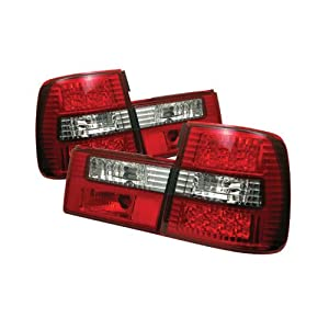 Spyder BMW E34 5-Series 88-95 LED Tail Lights - Red Clear