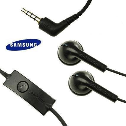 Samsung Oem Universal 3.5Mm Hands Free Stereo Headset With Send/End Button - Wired Headsets - Non-Retail Packaging - Black