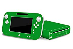 Nintendo Wii U Skin New Groovy Green System Skins Faceplate Decal Mod