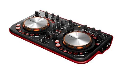 パイオニア+DJコントローラー+DDJ-WeGO-R+レッド
