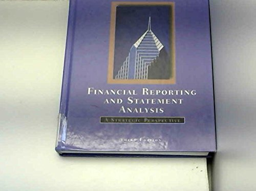 Image for Financial Reporting and Statement Analysis: A Strategic Perspective