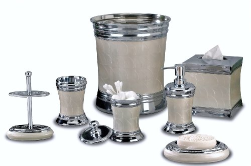 Nu Steel Fantasy Collection Bathroom Accessories Set ,7-Piece
