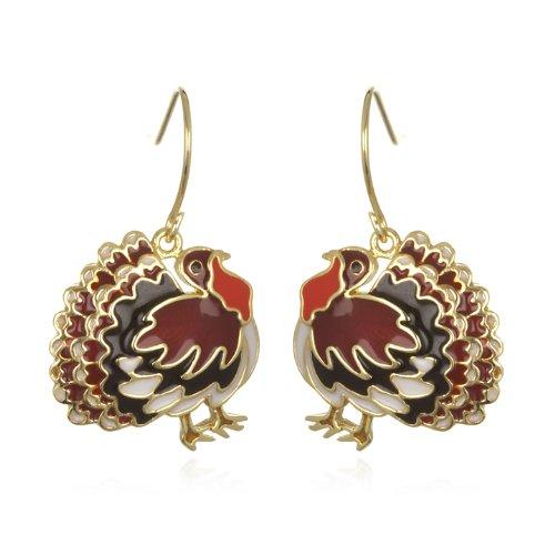 Turkey Enamel Drop Earring