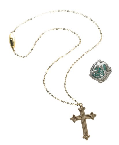 Angelica Cross Necklace And Ring