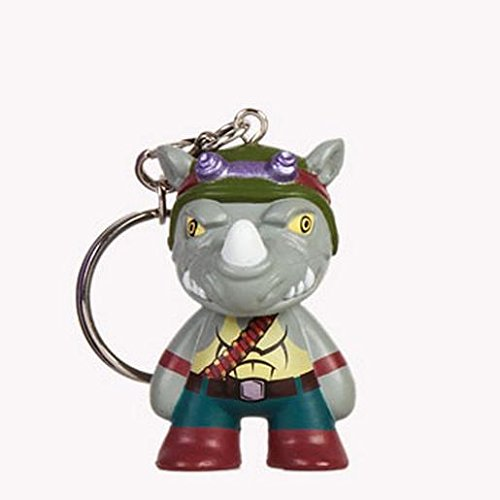 Teenage Mutant Ninja Turtles Rocksteady Mini Trading Figure Keychain