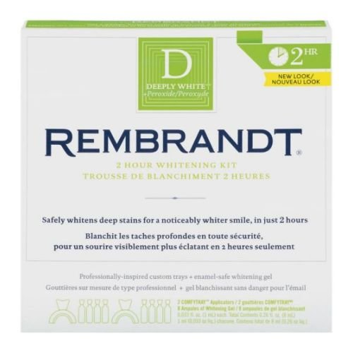 Rembrandt 2 Hour Whitening Kit -- 6 per case.