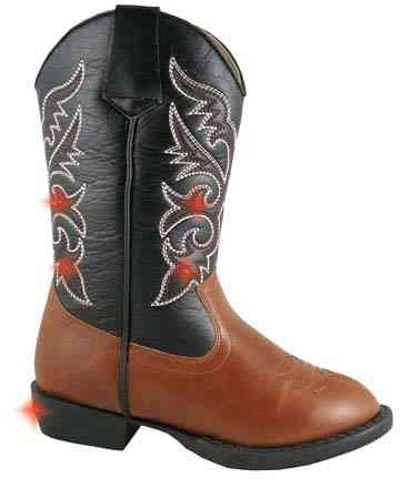 Smoky Mountain 1162 Boy'S Austin Lights Boot Brown/Black Toddler'S 7.5 M Us front-1009169
