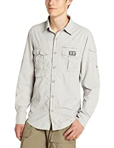 Bear Grylls Mens Bear Adventure Long Sleeve Shirt by Bear Grylls