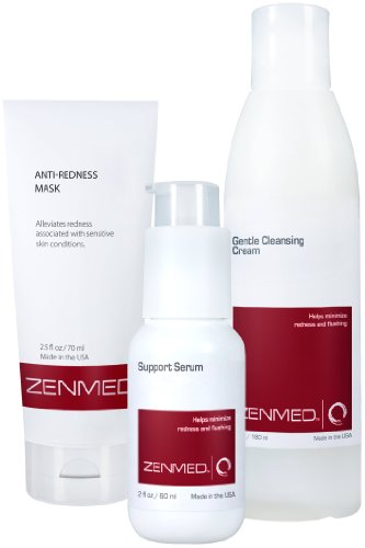 Zenmed Skin Support System-kit for Rosacea Treatment and Skin Cleansing-Dry Skin