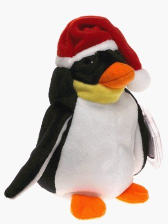 Ty Beanie Babies - Zero the Holiday Penguin