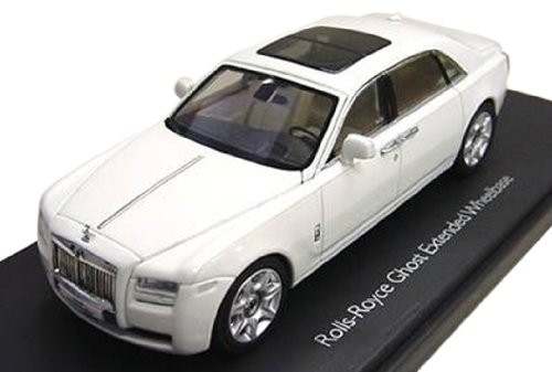 modellino-auto-rolls-royce-ghost-english-white-with-extended-wheel-base-1-43-by-kyosho-05551-importa