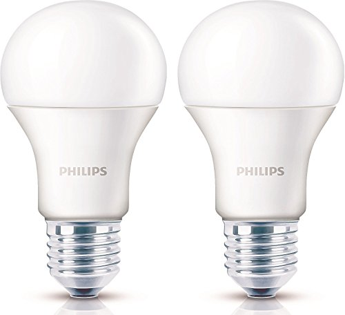 Philips Stellar Bright 14W E27 LED Bulb (Warm White, Pack of 2)