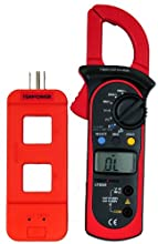Tekpower 202A Auto-ranging AC 600 Amp Clamp Meter with Line Splitter