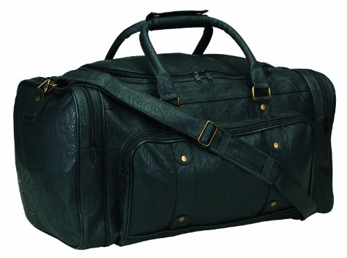 """Bags for LessTM Extra Large Deluxe Sports Duffel Bag, 23"""", Black"""