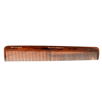 Uppercut Deluxe Tortoise Comb with Gold Logo