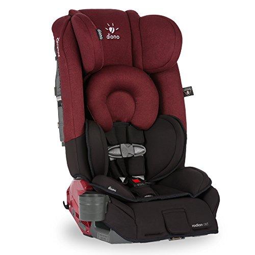 Diono Radian RXT Convertible Car Seat, Black Scarlet