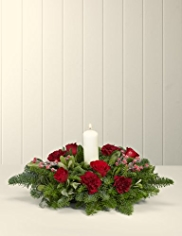 One Christmas Table Arrangement