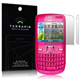 NOKIA C3-00 SCREEN PROTECTOR CASE / GUARD / FILM / COVER, 2-IN-1 PACK BY TERRAPINby Terrapin