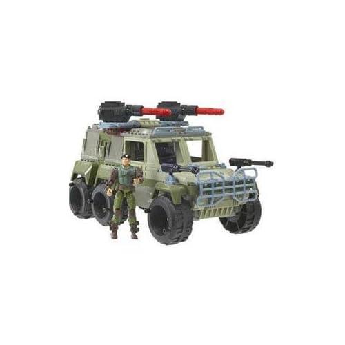 Amazon Com Gi Joe Built To Rule Ground Striker Jeep With