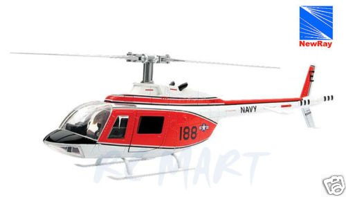 25847 1/34 Bell 206 Jetranger Navy Training
