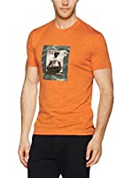 Dekker Camiseta Manga Corta Ace Life (Naranja)