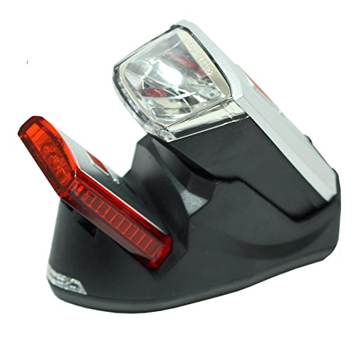 Büchel Leuchtturm Pro Fahrrad Beleuchtungs Set 40 Lux Ladestation LED 01010315