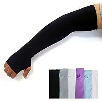 amazon   uv protection hand cover arm sleeves sports