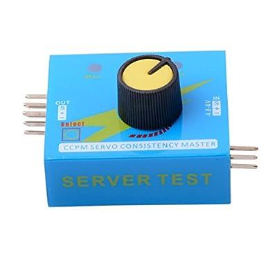 Qunqi 3CH Digital Multi Servo Tester ECS RC Consistency CCMP Master Speed Controler Checker