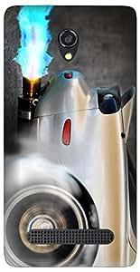 APE Designer Back Cover for MICROMAX CANVAS BLAZE 4G Q400