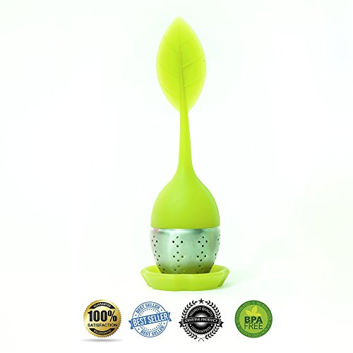 Buy TEA Infuser Leaffusion - Best GENUINE Loose Leaf Infuser for Your Tea - It Fits Perfectly in Any...