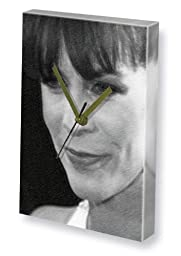 JAMIE LEE CURTIS - Canvas Clock (A4 - Signed by the Artist) #js001