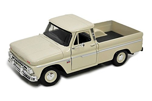 Showcasts Collectibles 1966 Chevy C10 Fleetside Pickup Truck 1/24 Diecast Model Car Cashmere (1966 Chevy Truck compare prices)