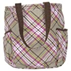 Thirty One Retro Metro Bag Painted Floral Plaid